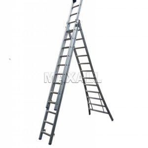 3) Driedelige Ladders